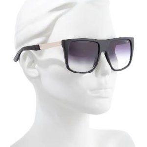 Quay Australia Incognito Black Fade Sunglasses NEW